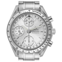 Omega Speedmaster Day Date Chronograph Silver Dial Men's Watch 3523.30.00 Box