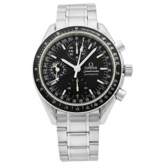 Omega Speedmaster Day Date Month Black Dial Steel Automatic Men Watch 3220.50.00