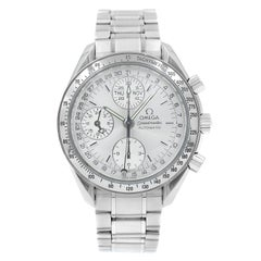 Omega Speedmaster Day Date Month Silver Dial Steel Automatic Watch 3523.30.00