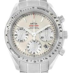 Omega Speedmaster Day Date Silver Dial Men's Watch 323.10.40.40.02.001
