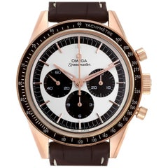 Omega Speedmaster First In Space Sedna Gold Watch 311.63.40.30.02.001