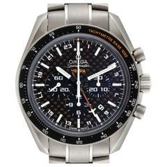 Omega Speedmaster HB-SIA GMT Titanium Watch 321.90.44.52.01.001 Box Card