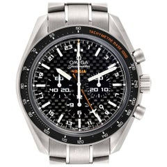 Omega Speedmaster HB-SIA GMT Titanium Watch 321.90.44.52.01.001