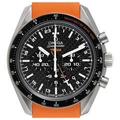 Omega Speedmaster HB-SIA GMT Titanium Watch 321.92.44.52.01.003 Box Card