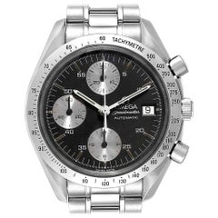Omega Speedmaster Marui Black Dial Limited Steel Men's Watch 3513.51.00