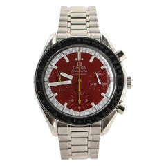 Omega Speedmaster Michael Schumacher Chronograph Automatic Watch Stainless Steel