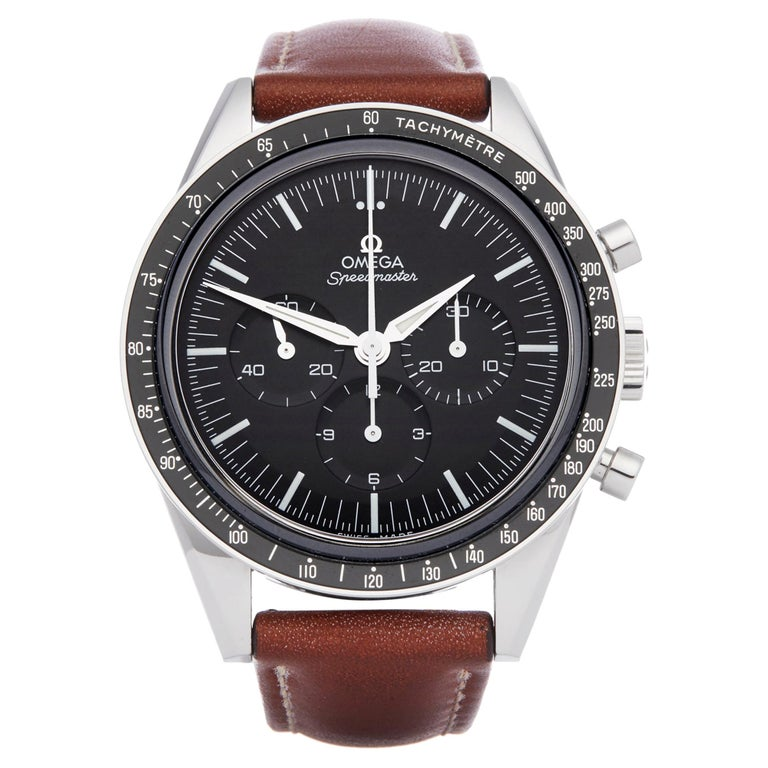 Omega Speedmaster No.6327 Chronograph Moonwatch Stainless Steel 311.31.40.30.01 For Sale