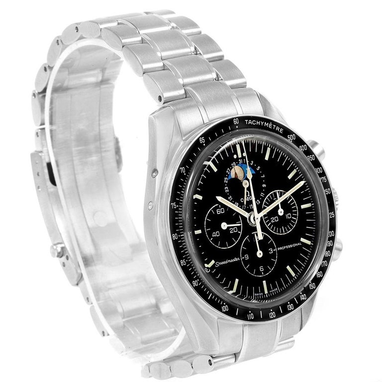 Omega Speedmaster Professional Moonphase Moon Watch 3576.50.00 For Sale 1