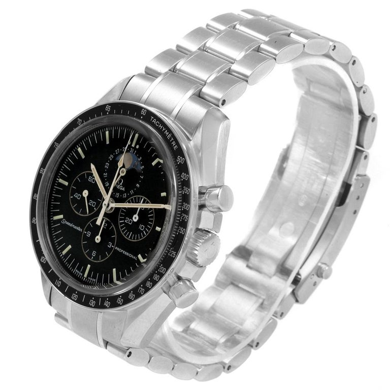 Omega Speedmaster Professional Moonphase Moon Watch 3576.50.00 For Sale 4