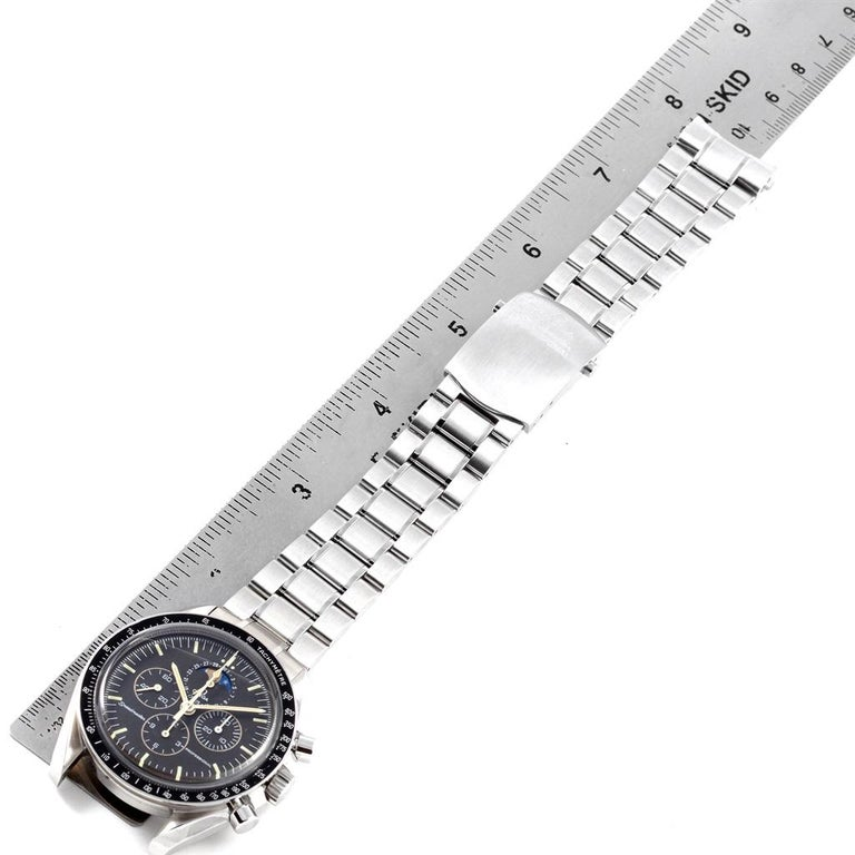 Omega Speedmaster Professional Moonphase Moon Watch 3576.50.00 For Sale 5