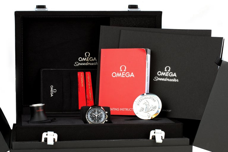 Men's Omega Speedmaster Professional Moonwatch 311.33.42.30.01.001 Box Papers For Sale