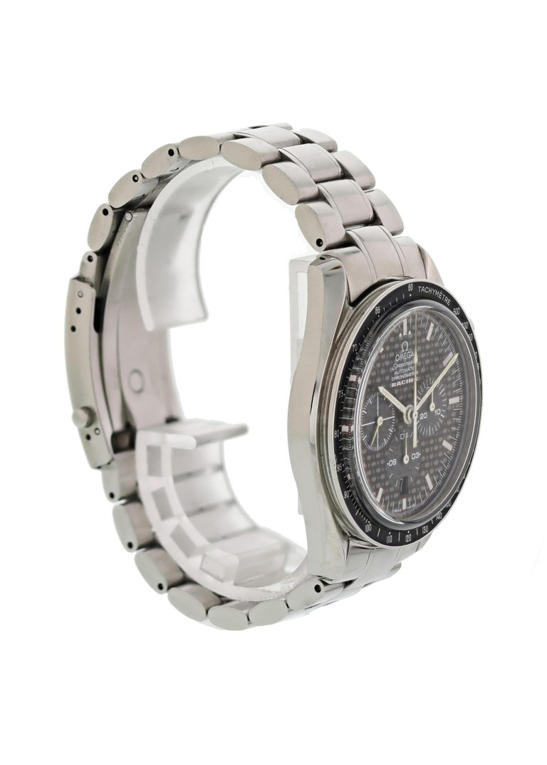 Omega Speedmaster Racing 3552.59.00 Chronometer Men's Watch In Excellent Condition For Sale In New York, NY