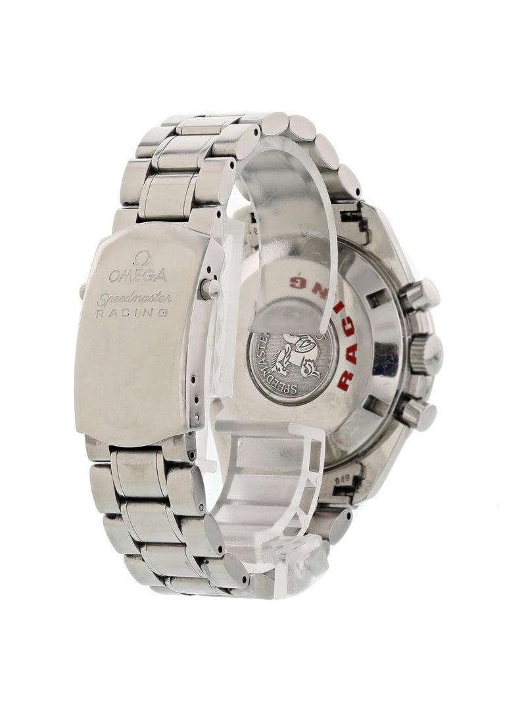Men's Omega Speedmaster Racing 3552.59.00 Chronometer Men's Watch For Sale