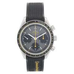 Omega Speedmaster Racing Co-Axial Chronometer Chronograph on Rubber Strap