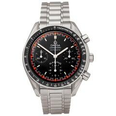 Omega Speedmaster Racing Schumacher Chronograph Stainless Steel 35185