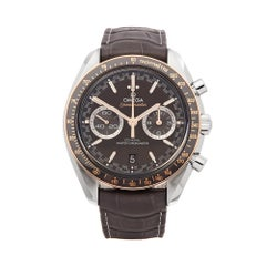 Omega Speedmaster Racing Stainless Steel & 18k Rose Gold 32923445106001 Watch