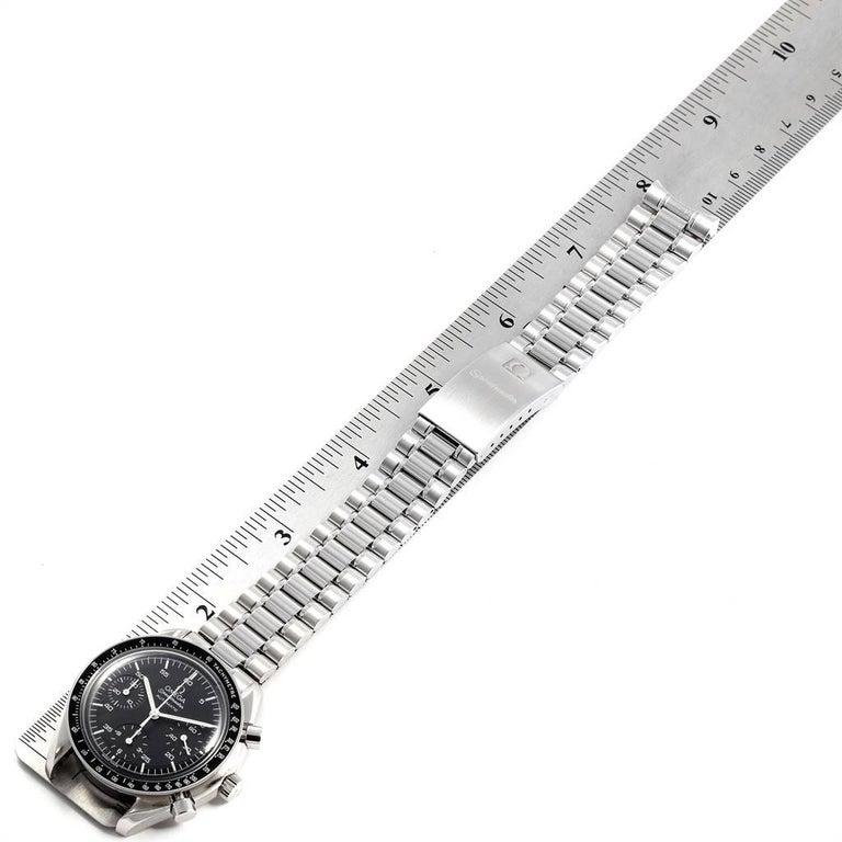 Omega Speedmaster Reduced Black Dial Automatic Men's Watch 3510.50.00 6