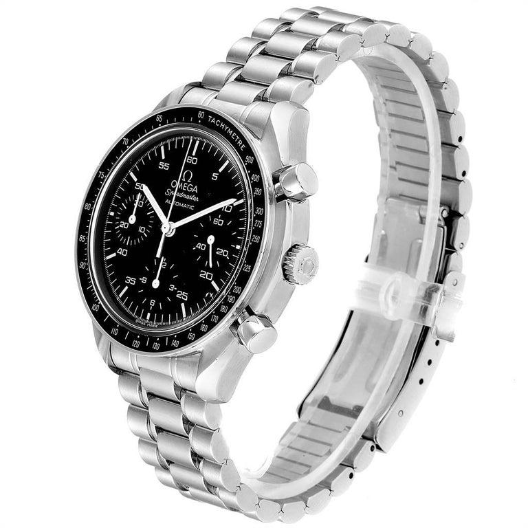 Men's Omega Speedmaster Reduced Black Dial Automatic Men's Watch 3510.50.00