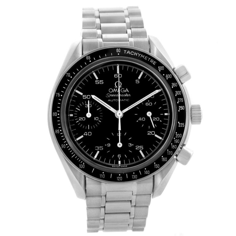 Omega Speedmaster Reduced Black Dial Automatic Men's Watch 3510.50.00 For Sale 1