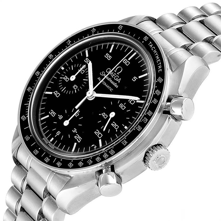 Omega Speedmaster Reduced Black Dial Automatic Men's Watch 3510.50.00 1