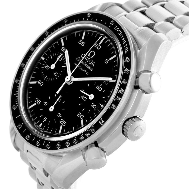 Omega Speedmaster Reduced Black Dial Automatic Men's Watch 3510.50.00 For Sale 4