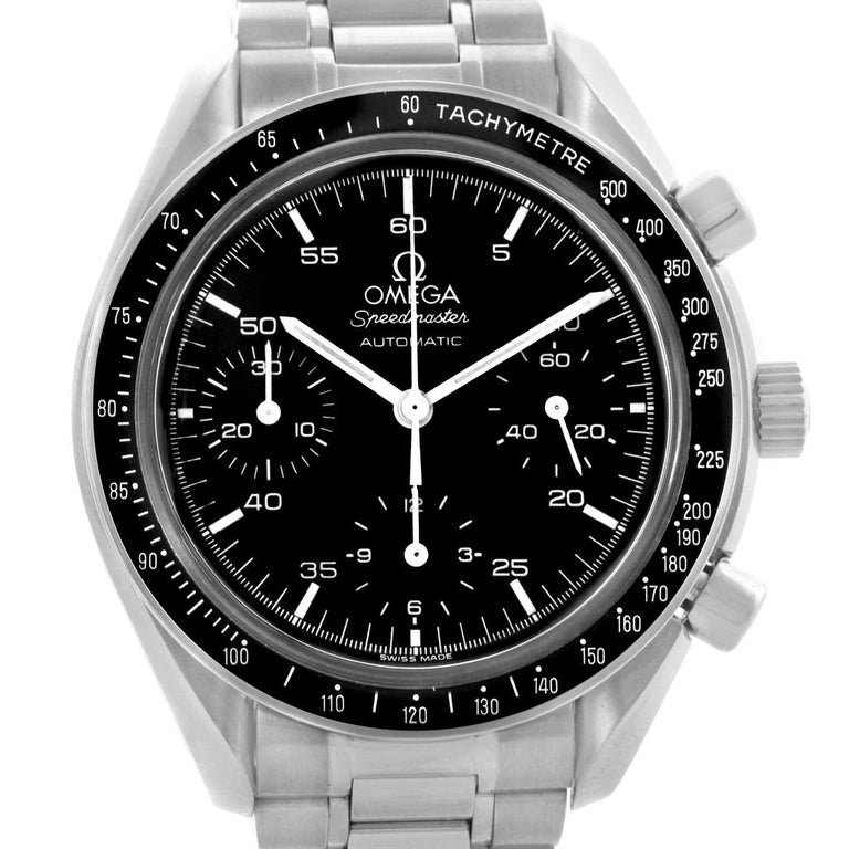 Omega Speedmaster Reduced Black Dial Automatic Men's Watch 3510.50.00 For Sale
