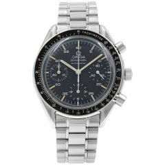 Omega Speedmaster Reduced Black Dial Steel Automatic Men's Watch 3510.50.00