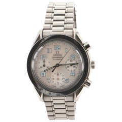 Omega Speedmaster Reduced Chronograph Automatic Watch Stainless Steel