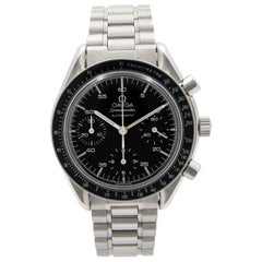 Omega Speedmaster Reduced Steel Black Dial Automatic Mens Watch 3510.50.00