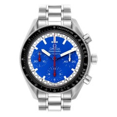 Omega Speedmaster Schumacher Blue Dial Automatic Men's Watch 3510.80.00