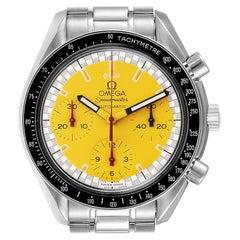 Omega Speedmaster Schumacher Yellow Dial Automatic Men's Watch 3510.12.00