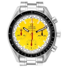 Omega Speedmaster Schumacher Yellow Dial Automatic Men's Watch 3510.80.00