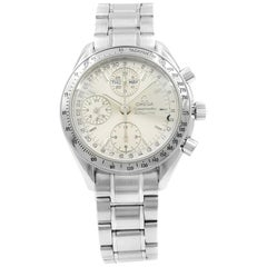 Omega Speedmaster Silver Dial Day-Date Steel Automatic Men's Watch 3523.30.00