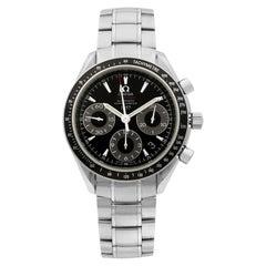 Omega Speedmaster Steel Chronograph Black Dial Men's Watch 323.30.40.40.01.001