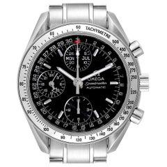Omega Speedmaster Triple Calendar Black Dial Steel Men's Watch 3523.50.00