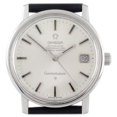 Omega Stainless Steel Automatic Chronometer Officially Certified Watch with Date