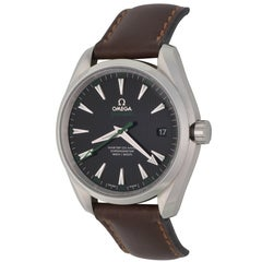 Omega Stainless Steel Seamaster Aqua Terra Caliber 8500 Automatic Wristwatch