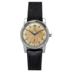 Omega Stainless Steel Seamaster Automatic Wristwatch, 1950s