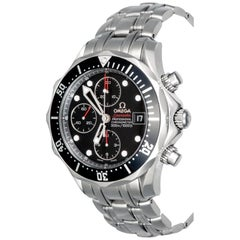 Omega Stainless Steel Seamaster Professional Chronograph Automatic Wristwatch