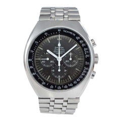 Omega Stainless Steel Speedmaster Chronograph Automatic Watch, 1968