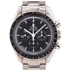 Omega stainless steel Speedmaster Man on the Moon manual wristwatch, c1997