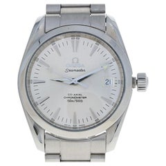 Omega Stainless Steel Watch, Men's Seamaster Aqua Terra Automatic 2504.30.00