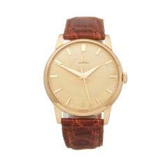 Omega Vintage 18 Karat Yellow Gold 16270831 Wristwatch