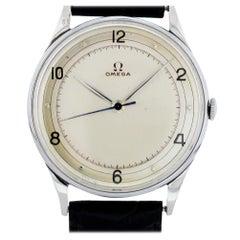 Omega Vintage Unbekannt mit Armband und Silber Zifferblatt Zertifiziert aus Vorbesitz