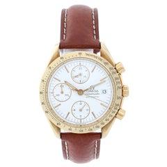 Omega Yellow Gold Speedmaster Automatic Wristwatch Ref 175