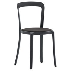 On & On Stacking Chair in Plastic with Black Fabric 2 by Barber & Osgerby