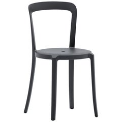 On & On Stacking Chair in Plastic with Black Frame by Barber & Osgerby