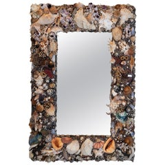 On the Darker Side, Unique Shell Mirror by Shellman Scandinavia