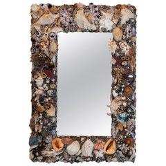 On the Darker Side, Unique Shell Mirror by Shellman Scandinavia