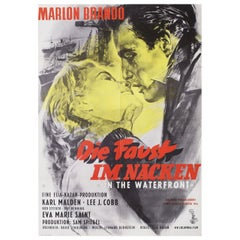 On the Waterfront R1962 German A1 Film Poster